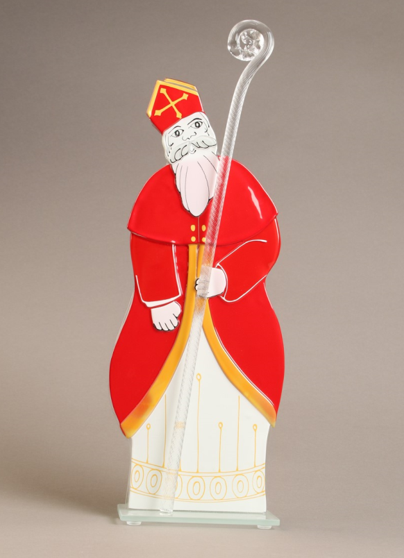 St Nicolas verre Emmanuel Perrin