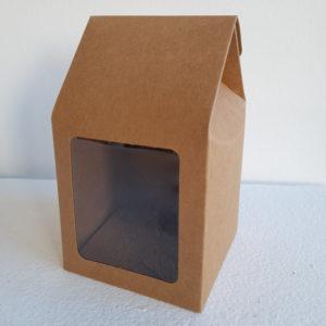 Boîte en carton d'emballage boule de noel