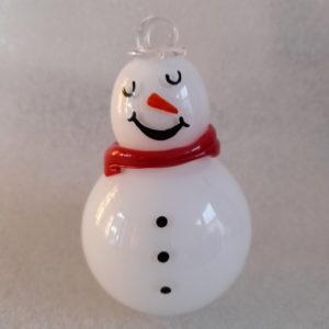 bonhomme de neige décoration sapin noel