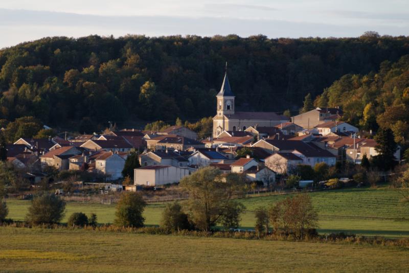 vue d'ensemble village